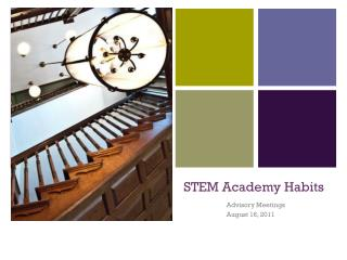 STEM Academy Habits