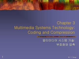Chapter 3 Multimedia Systems Technology: Coding and Compression