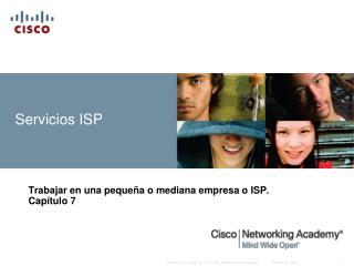 Servicios  ISP
