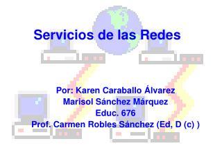 Servicios de las Redes