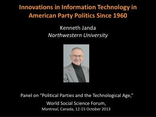 "Panel on ""Political Parties and the Technological Age,"""