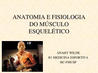 ANATOMIA E FISIOLOGIA DO MÚSCULO ESQUELÉTICO