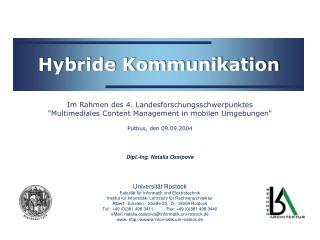 Hybride Kommunikation