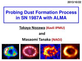 Probing Dust Formation Process in SN 1987A with ALMA