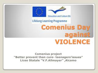 Comenius Day against VIOLENCE