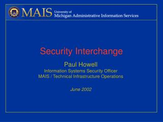 Security Interchange