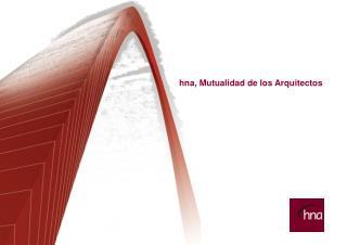 hna, Mutualidad de los Arquitectos