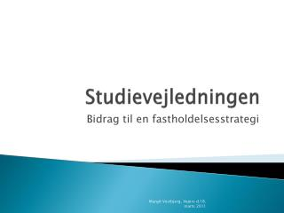 Studievejledningen