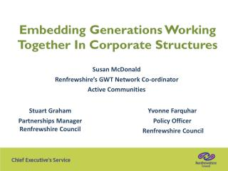 Embedding Generations Working Together In Corporate Structures