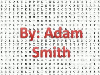 By: Adam Smith