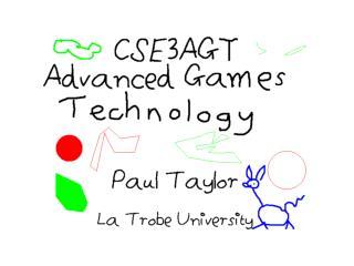 About CSE3AGT