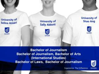 Bachelor of Journalism