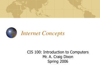 Internet Concepts