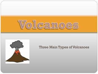 Three Main Types of Volcanoes