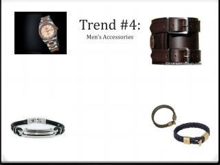 Trend #4: Men's Accessories