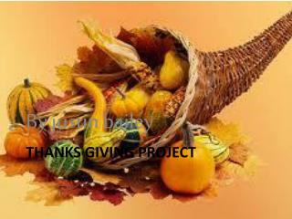 Thanks giving project