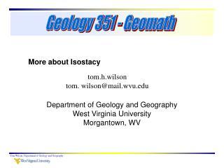 tom.h.wilson tom. wilson@mail.wvu