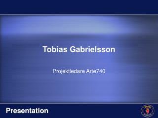 Tobias Gabrielsson