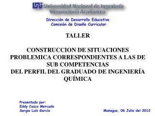 Managua,  06 Julio  del 2012