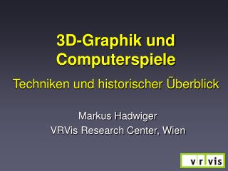 3D-Graphik und Computerspiele