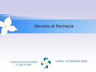 Servizio di Farmacia