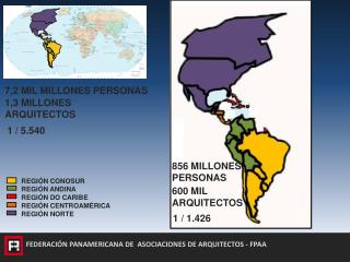 FEDERACIÓN PANAMERICANA DE   ASOCIACIONES  DE ARQUITECTOS - FPAA