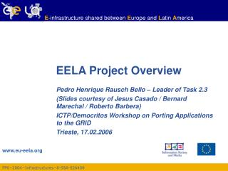 EELA Project Overview