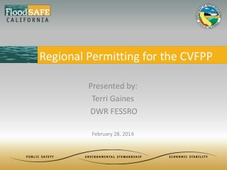 Regional Permitting for the CVFPP