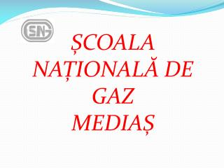 ȘCOALA NAȚIONALĂ DE GAZ  MEDIAȘ