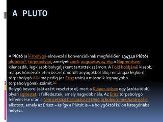 A Pluto