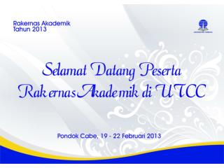 Hari I:  Selasa, 1 9  Februari 201 3 ( Pakaian  Batik)