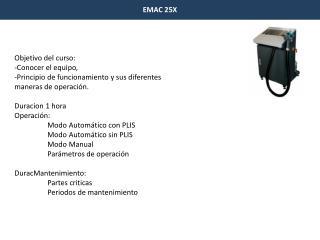 EMAC 25X