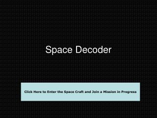 Space Decoder