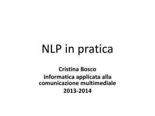 NLP in pratica