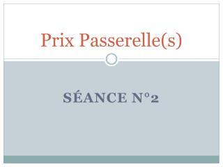 Prix Passerelle(s)
