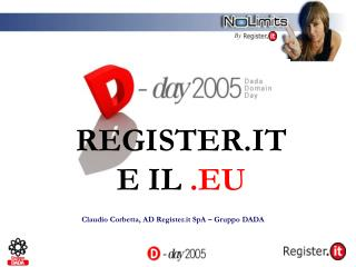 REGISTER.IT E IL  .EU
