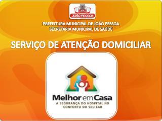 PREFEITURA MUNICIPAL DE JOÃO PESSOA SECRETARIA MUNICIPAL DE SAÚDE
