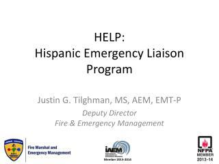 HELP: Hispanic Emergency Liaison Program