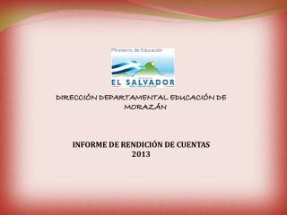 INFORME DE RENDICIÓN DE CUENTAS  2013