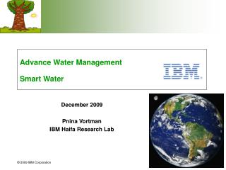 Advance Water Management Smart Water