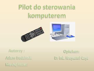 Pilot do sterowania komputerem