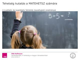 Tehetség kutatás a MATEHETSZ számára