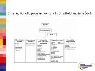 Internationella programkontoret för utbildningsområdet