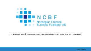 -   Vi streber med å forhandle kostnadsbesparende avtaler for ditt selskap!