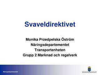 Svaveldirektivet