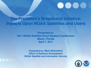 NOAA Satellite Direct Readout Conference