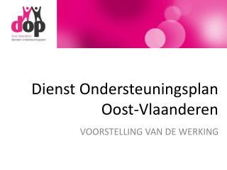 Dienst Ondersteuningsplan Oost-Vlaanderen