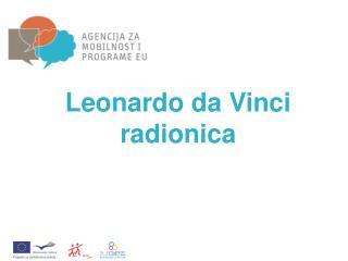 Leonardo da Vinci radionica