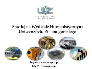 Studiuj na Wydziale Humanistycznym Uniwersytetu Zielonogórskiego