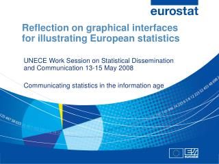 Reflection on graphical interfaces for illustrating European statistics